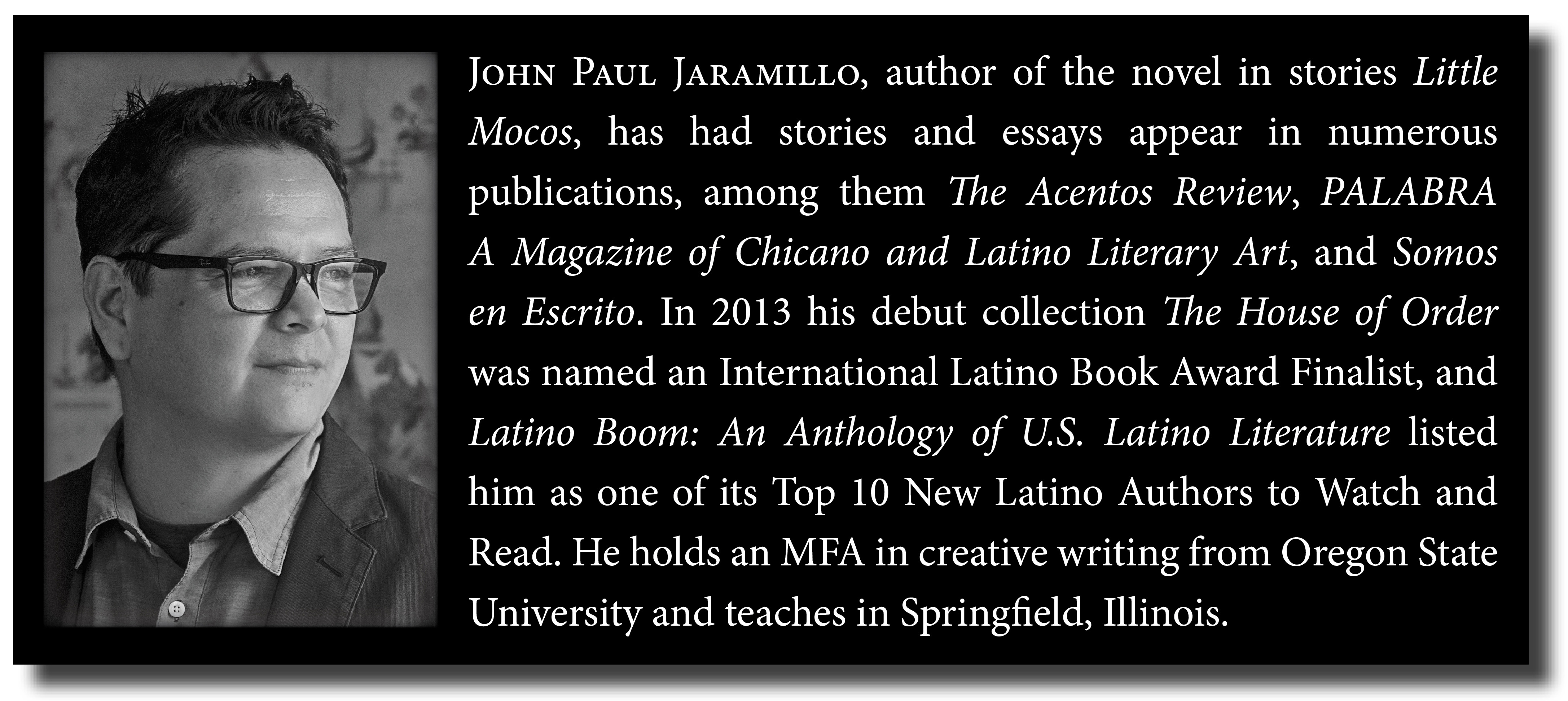 John Paul Jaramillo Author Page