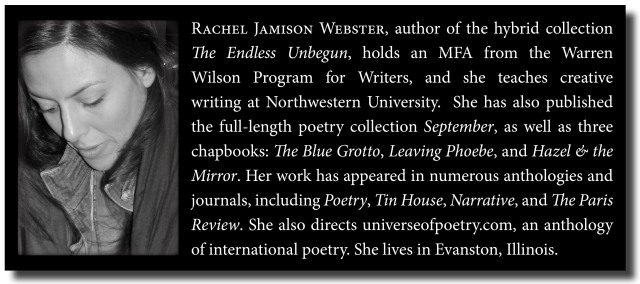 Rachel Jamison Webster Author Page